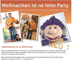 """""""Weihnachten ist ne fette Party"""" @ Friedenskirche"""